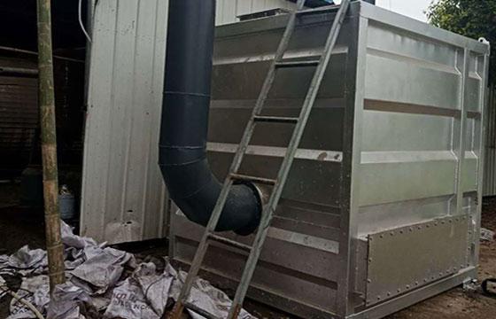 黄石沥青厂活性炭吸附塔